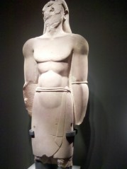 This colossus was found in al-Ula and dates to the 4th-3rd century BCE