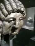 Bronze head of a man, 1st Cent. BCE- 2nd C Qaryat al-Faw