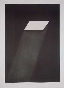 "James Turrell - ""Meeting"" (from the portfolio ""First Light""), 1989–90 Aquatint, 108 x 75.6 cm Peter Blum Edition, New York © James Turrell Photo: Courtesy Peter Blum Edition, New York"