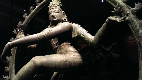 Bronze statue of Shiva dancing, the source of all movement