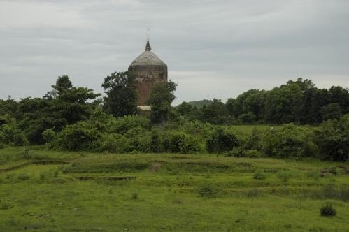 Sri Ksetra  when we visited in 2012 on a gray day during monsoon season
