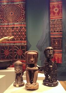 Korwar figures from western New Guinea at Yale university Art