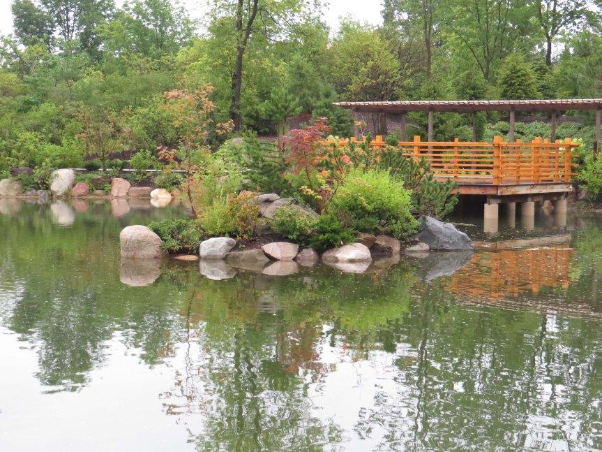 a viewing platform -  Japanese Garden in the Frederik Meijer Gardens & Sculpture Park
