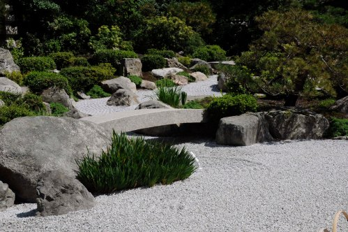 following the river in our imagination - Tenshin-en garden at MFA, Boston