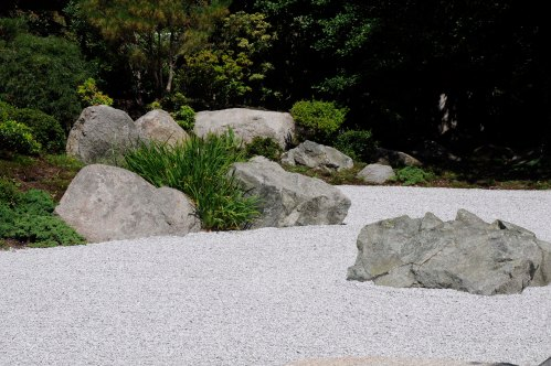 Old Man rock - Tenshin-en garden at MFA, Boston