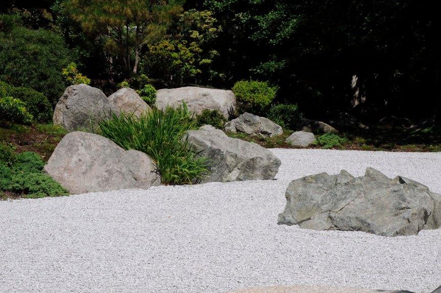 Old Man rock - Tenshin-en garden at MFA, Boston