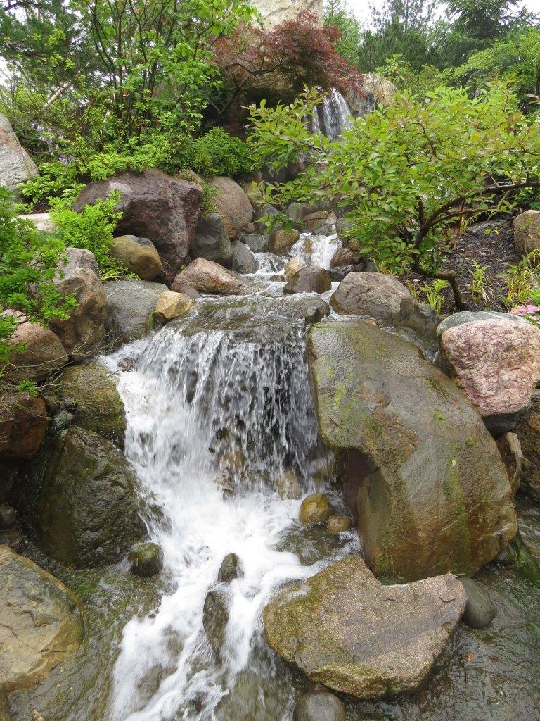 Newly Opened Japanese Garden In Grand Rapids, Michigan