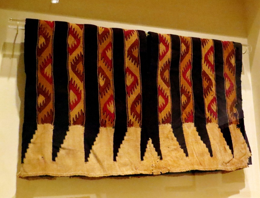 Tunic, 1400-1540 Peru (Dallas Museum of Art 1989.W.2433, should you want to look it up)