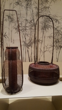 Two baskets by Tanabe Chikuunsai II (both mid 20th C)