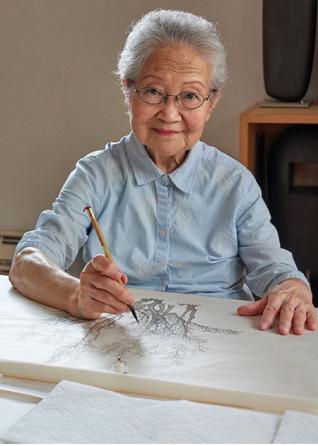 ARTIST AN HO ©CHINA 2000 FINE ART