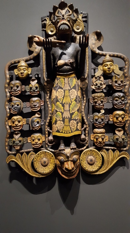Ritual mask of Maha Kola Sanni Yansha (Fowler Museum, UCLA)