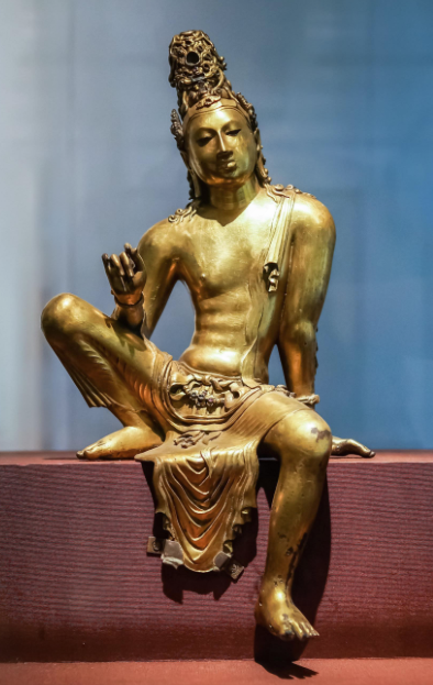 this one from Sri Lanka, c. 800. (Colombo National Museum)