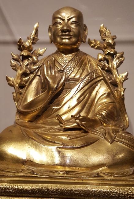 Portrait of Change Rolpai Dorje (1717-1786), Qing dynasty, China
