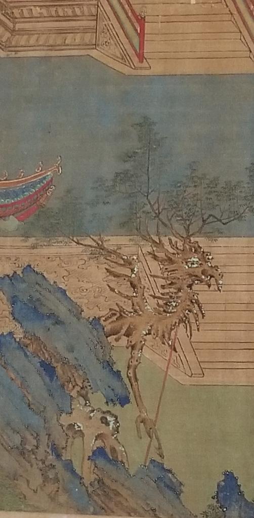 Detail of Qiu Ying's The Jiucheng Palace
